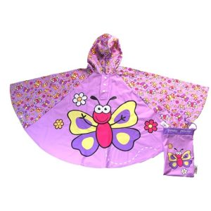 butterfly poncho cutout