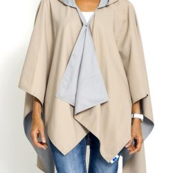 Camel and Light Grey RAINRAP
