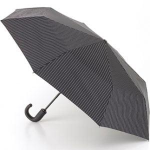 Fulton Compact Umbrella - Chelsea - Black