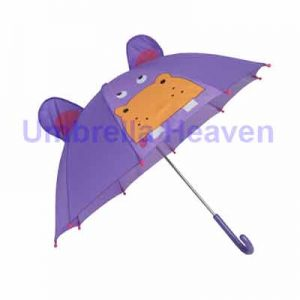 Children's Umbrella - Hippo