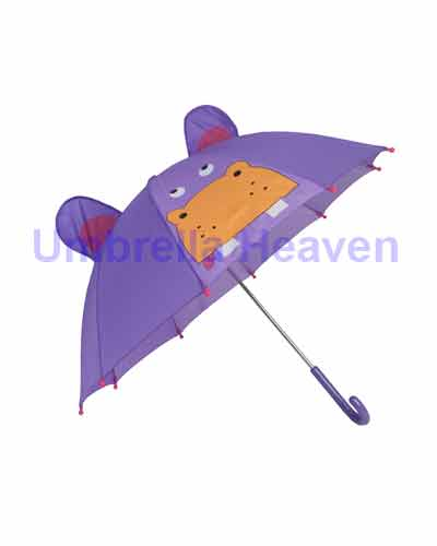 Kids Hippo Umbrella