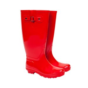 classic red wellies