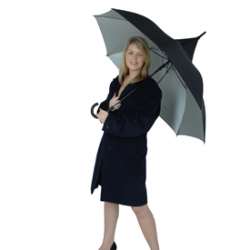 Classic Black Pagoda / UV Protective Umbrella