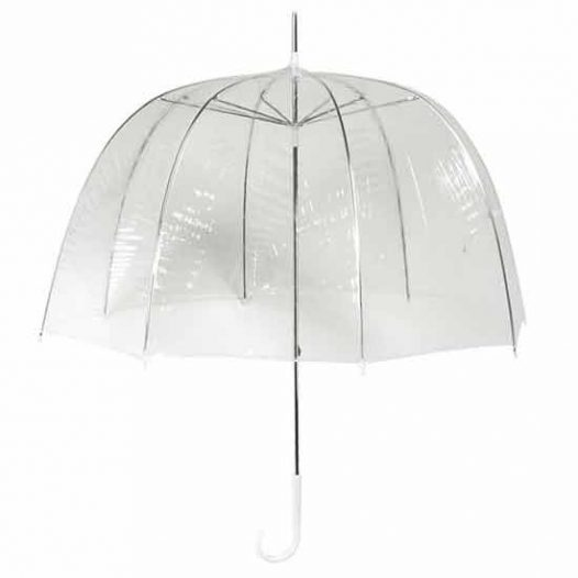 Clear Dome bubble Umbrella - Manual Opening