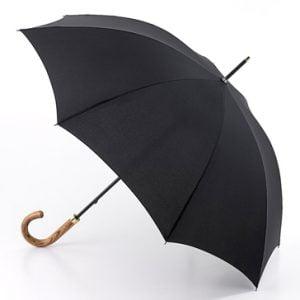 Fulton Commissioner - Gent's Black Walking Umbrella