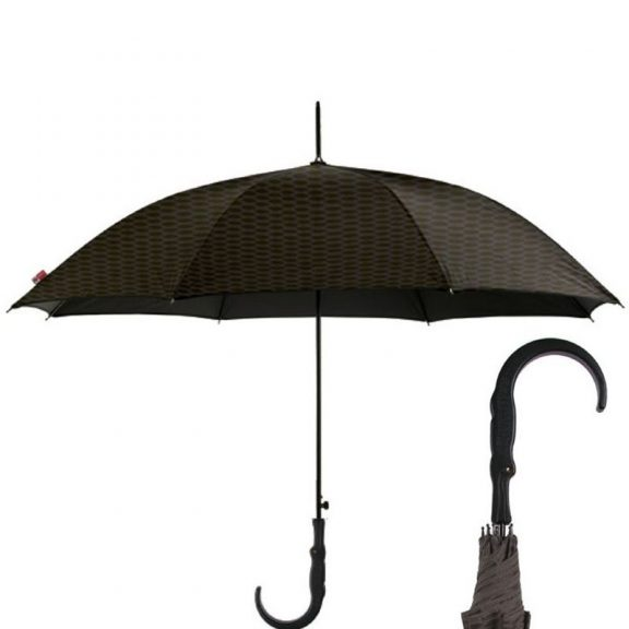 diamante black crocodile silhouette umbrella cutout