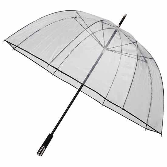 See Through Clear Golf Umbrellas
