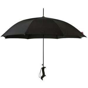 diamante black dog silhouette umbrella cutout