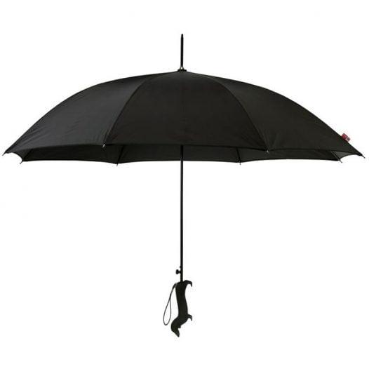 diamante black dog silhouette umbrella cutout