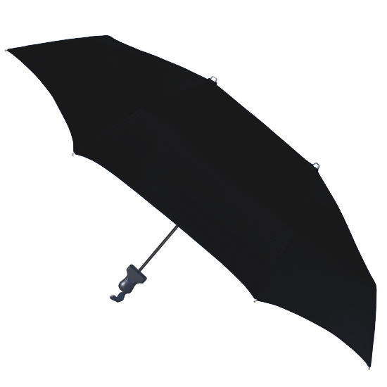 Duo Twin Compact Umbrella Covers 2 - Black
