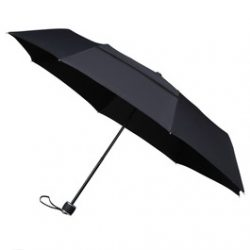 Best Travel Umbrella ECO Vented Umbrella - Black compact