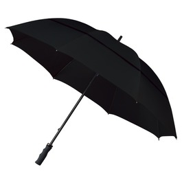 ECO Windproof Golf Umbrella - Black
