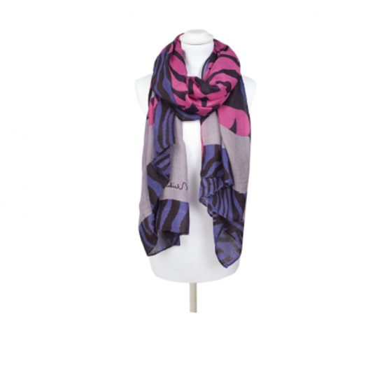 pia rossini ladies striped scarf 2 elodia