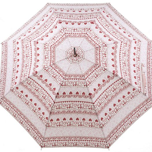 Emma Bridgewater Love Heart Sampler Walking Umbrella