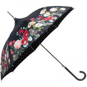 floral pagoda umbrella cutout