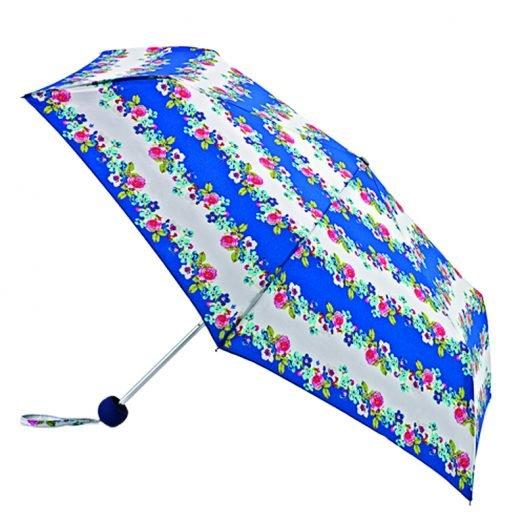 fulton super slim nautical floral umbrella