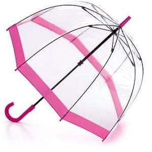 Fulton Birdcage Umbrella - Pink