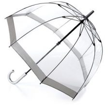 Fulton Dome Umbrella / Fulton Birdcage Umbrella - Silver