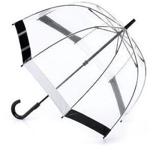Fulton Birdcage Umbrella -  Black & White