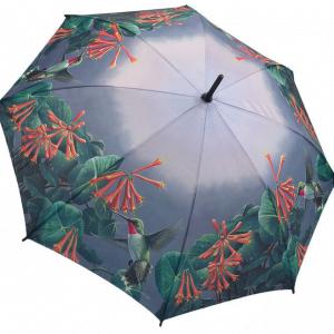 Humming Birds & Honeysuckle Stick Umbrella