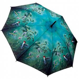 Hautmans Humming Birds Stick Umbrella