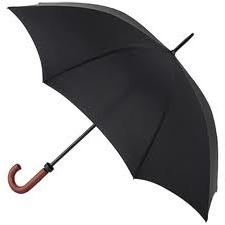 Fulton Huntsman - Gent's Black Walking Umbrella