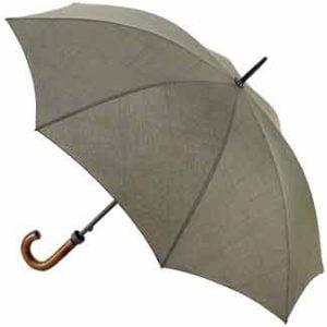 Fulton Umbrella - Huntsman Khaki Weave Print
