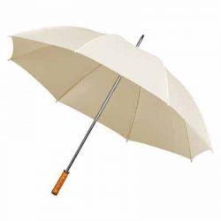 Budget Ivory Wedding Umbrella