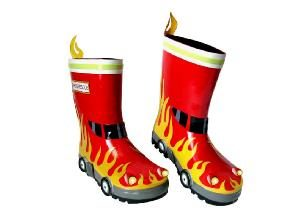 Kidorable Fireman Wellington Boots