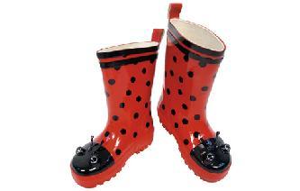 Kidorable Ladybird Rain Wellington Boots