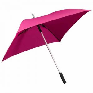 Square Golf Umbrella - Hot Pink