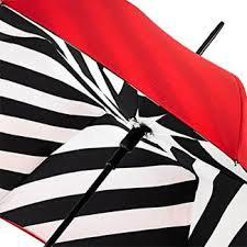 LuLu Guinness Designer Umbrella inner canopy