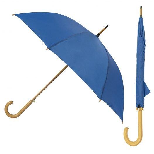 Full Frills Vintage Stick Umbrella Plum