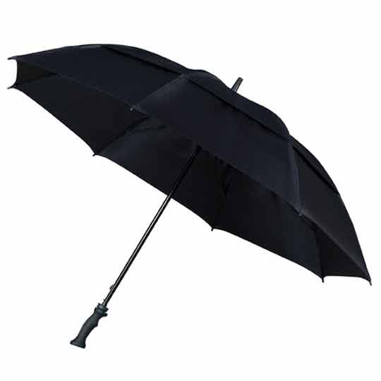 MaxiVent Black Golfing Umbrella