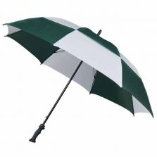 MaxiVent Golf Umbrella - Green & White
