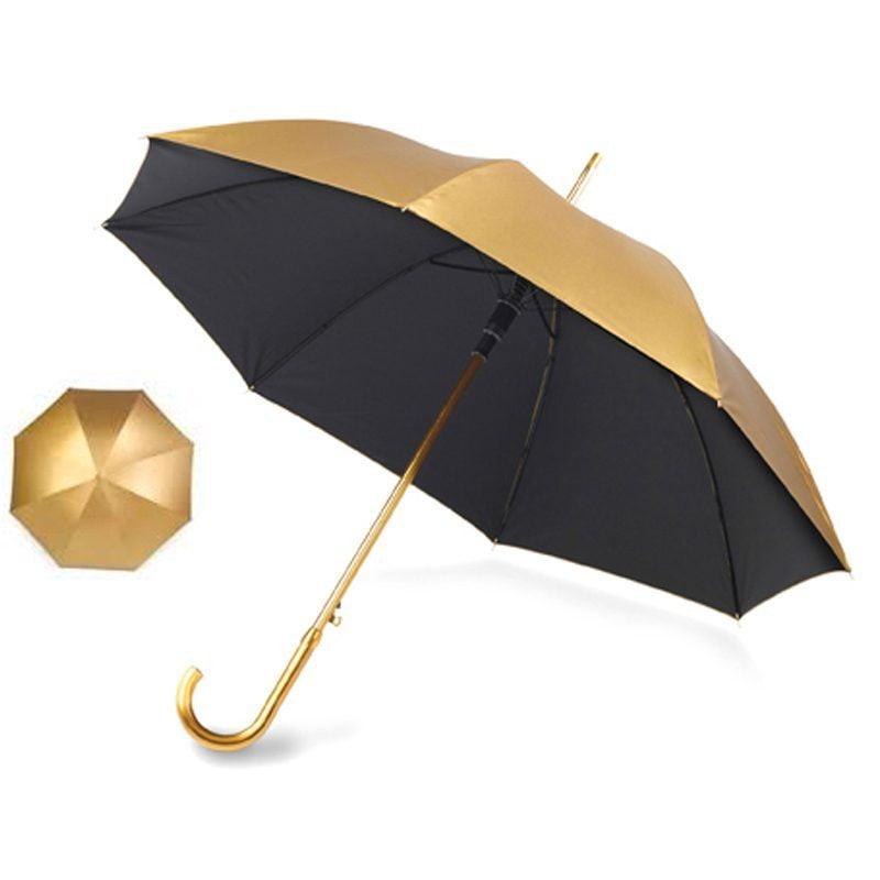 metallic gold umbrella cutout