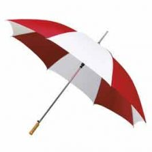 Budget Golf Umbrella - Red & White