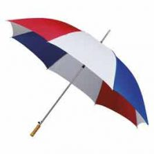 Budget Mini Golf Umbrella - Red, White & Blue