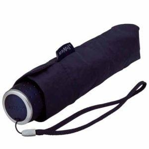 MiniMax - Folding Umbrella - Travel Umbrella - Dark Blue