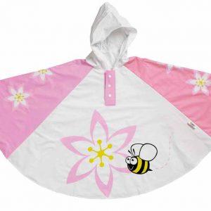Children's Rain Poncho - Orchid