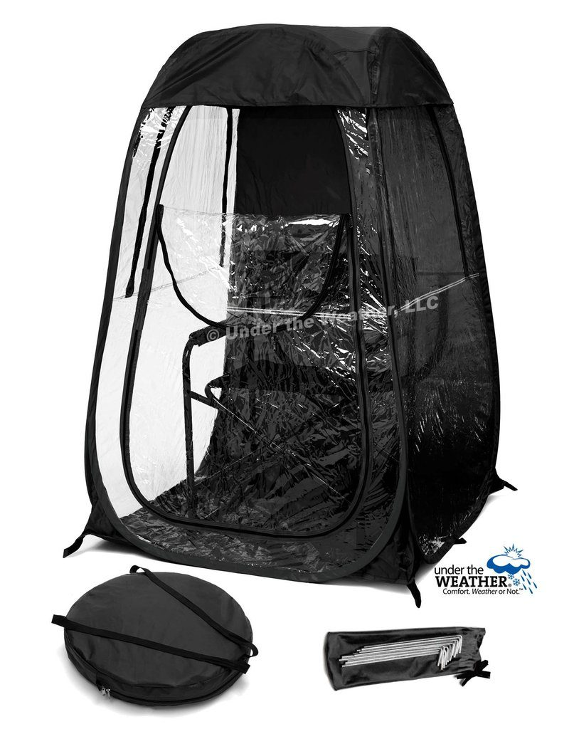 under the weather shelter cutout black