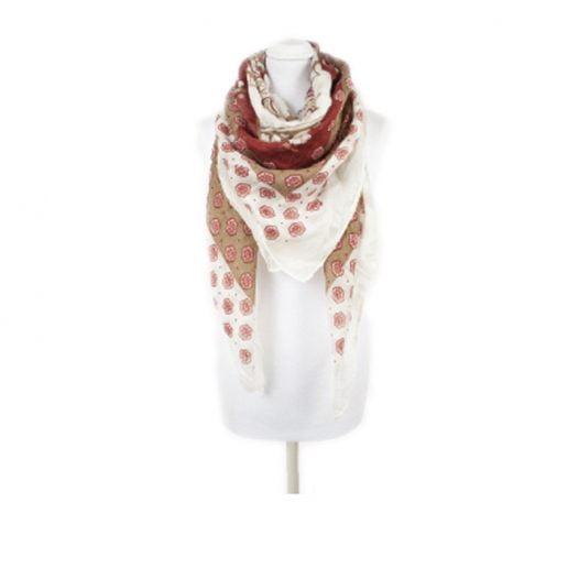 pia rossini orson floral scarf