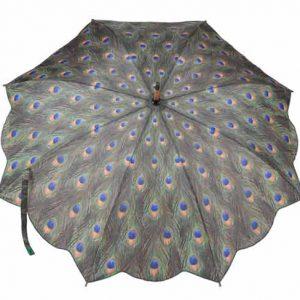 Peacock Design Umbrella