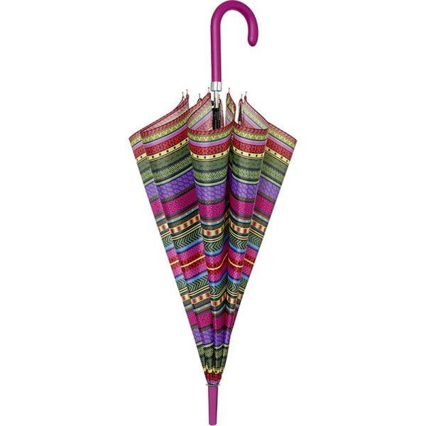 perletti designer umbrellas aztec fashion umbrella pink