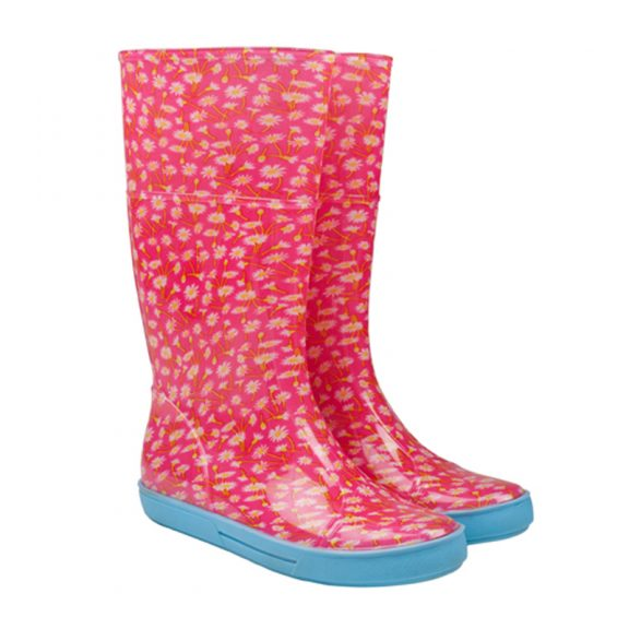 Pink Wellies / Pink Daisy Wellingtons