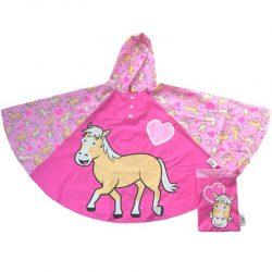 Pink Rain Poncho