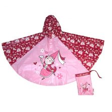 Girls Rain Poncho - Princess