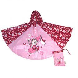 Girls Rain Poncho - Princess