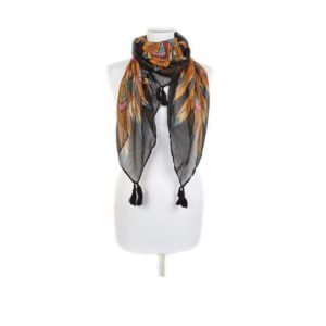 ria rossini rochester scarf black