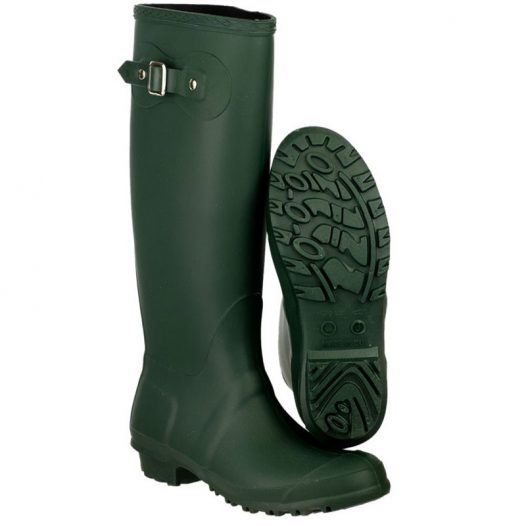 Green Sandringham Wellington Boots